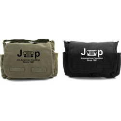 Jeep An American Tradition Heavyweight Canvas Messenger Bag found on Bargain Bro Philippines from groupon for $32.95