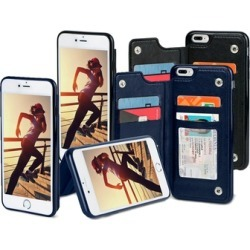 Gear Beast Wallet Cases for iPhone 8, iPhone 8 Plus, iPhone 7, iPhone 7 Plus, iPhone 6/6s, and iPhone 6 Plus/6s Plus