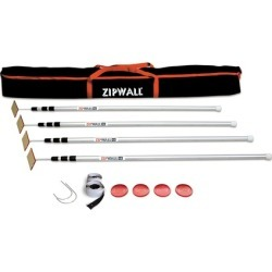 Zipwall 12 4-Pack Dust Barrier System