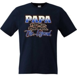Fresh Tees-Father's Day Shirt (F Navy Blue)