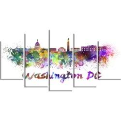Washington DC Skyline - Cityscape Canvas Print