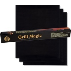 BBQ Grill Mat by Grill Magic set of 3 found on Bargain Bro India from groupon for $23.99