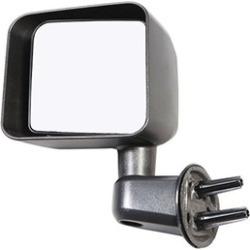 Rugged Ridge 11002.13 Door Mirror Black Left Side