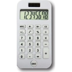 Victor Technology. 902W Antimicrobial Pocket Calculator, White
