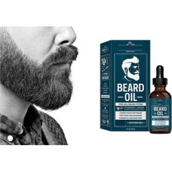 Ideal 60ml Vitamin E and Argan Beard Oil Helps Prevent Itchiness