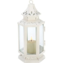 Small Victorian Tranquil Elegant Filled with Twinkling Light Lantern