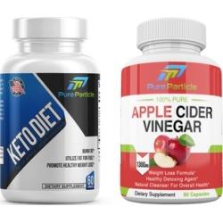 Keto Diet Weight Loss Supplement Apple Cider Vinegar Pills Combo 2
