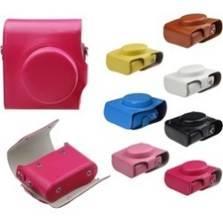 Fashion PU Leather Case Bag With Strap For FUJIFILM Instax Mini 8 Camera