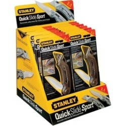 Stanley Hand Tools Stanley QuickSlide Sport Utility Knife