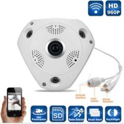 360° Panoramic Fisheye IP Camera Wifi Security Surveillance Camera VR