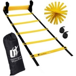 Agility Ladder for Fitness & Training- Speed Ladder With Adjustable 12