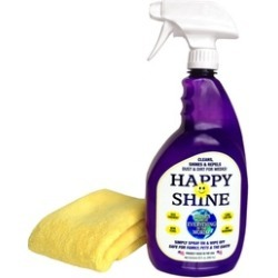 Happy Shine All Purpose Cleaner Spray Bottle With Microfiber Cloth