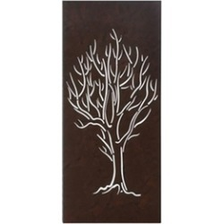 Rectangular Panel Winter Bare Tree Stark Beauty Wall Decor Art found on Bargain Bro India from groupon for $52.99