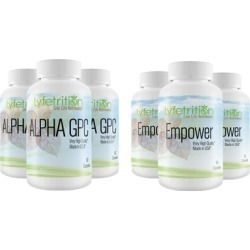 Lyfetrition Alpha GPC Premium Nootropic & /or Empower