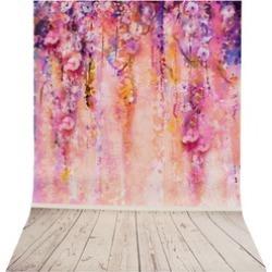 Purple Tree Romantic Photography Backdrop Background Studio Prop