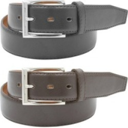 Leather Belts  2 Pack