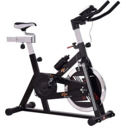 Costway Adjustable Exercise Bike Bicycle Cycling Cardio Fitness