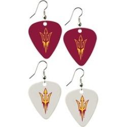 Sports Team Logo Set of 2 NCAA Guitar Pick Dangle Earrings Charm Gift