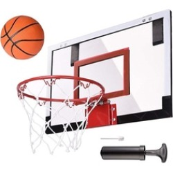 Mini Basketball Hoop System Indoor Outdoor Home Office Wall Basketball