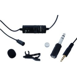 Movo Lavalier Omnidirectional Condenser Microphone for Canon DLSR