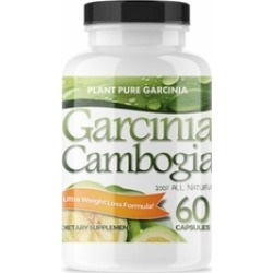 Plant Pure Garcinia - Garcinia Cambogia Complex - Weight Loss Pills