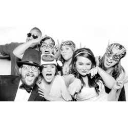 Two, Three, or Four-Hour Photo Booth Rental Package at Top Hat Photo Booth (Up to 44% Off)