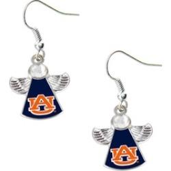 Sports Team Logo NCAA Crystal Angel Wing Dangle logo Earring Set
