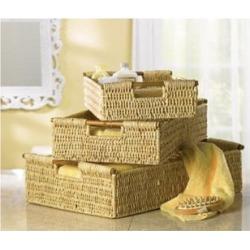 SWM 34622 Corn Husk Nesting Baskets