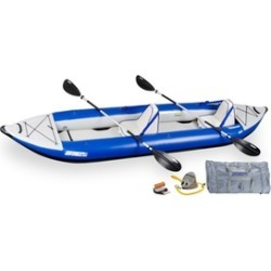 Explorer Inflatable Kayak 420XK Deluxe