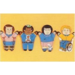 Dexter Educational Toys DEX830H Special Needs 4-pc. Puppet Set