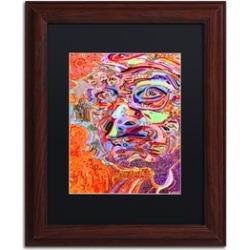 Josh Byer 'Chairman Of A 1966 Draft Board' Matted Wood Framed Art