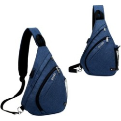 809761bc26be Men Fasion Chest Crossbody Fabric Large Capacity Travel Shoulder bag found  on Bargain Bro Philippines from