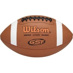 Wilson 1297287 GST Composite Football - Official Size