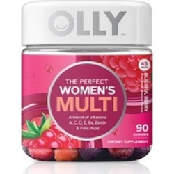 OLLY Perfect Womens Multi-Vitamin Gummy Supplements