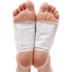 100 Pcs Detox Foot Pads Patch Detoxify Toxins Fit Health Care