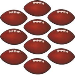 DDI 535127 Mini Football Cutouts Case of 24