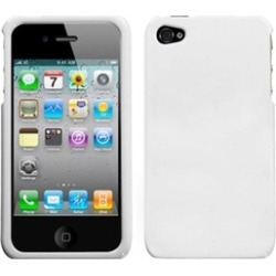 Insten Solid Ivory White Case For iPhone 4 4S