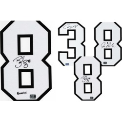 San Jose Sharks NHL Authentic Autographed Jersey Numbers
