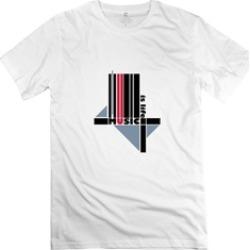 Music Is Life White Male Tshirt