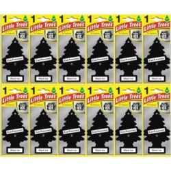BEST DEALS Little Trees Automotive Black Ice Hanging Air Fresheners (12 Pack)