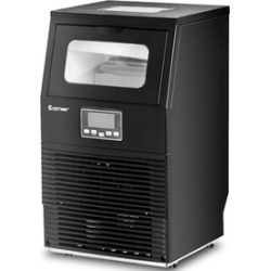 Portable Heavy Duty Built-In Commercial Ice Cube Maker Machine 88Lbs
