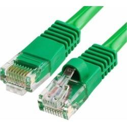 Cmple - RJ45 CAT5 CAT5E ETHERNET LAN NETWORK CABLE -25 FT Green