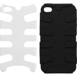 Insten Natural Ivory White Fishbone Case For iPhone 4 4S