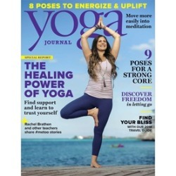 Six-Month, One-Year, or Two-Year Subscriptions to Yoga Journal Magazine (Up to 87% Off)