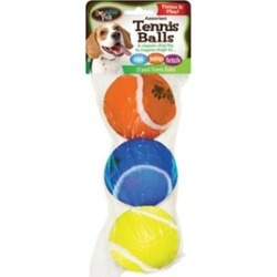 FLP 8828 Bow Wow Pet Toy Tennis Ball - 3 Pack Pack Of 26