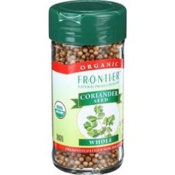 Organic Whole Coriander Seed ( 4 - 1.31 oz bottles )