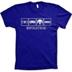 Evolution of Gaming Tshirt Funny Shirts Video Game Shirt