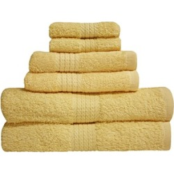 J And M Home Fashions Buttermilk Provence Bath Towel Pack Of 3