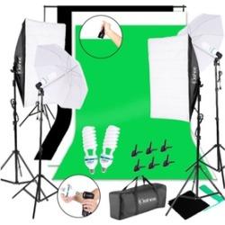 Photo Studio Soft Light Box Non Woven Fabrics & Light/Background Stand