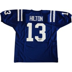 Autographed TY Hilton Indianapolis Colts Custom Jersey